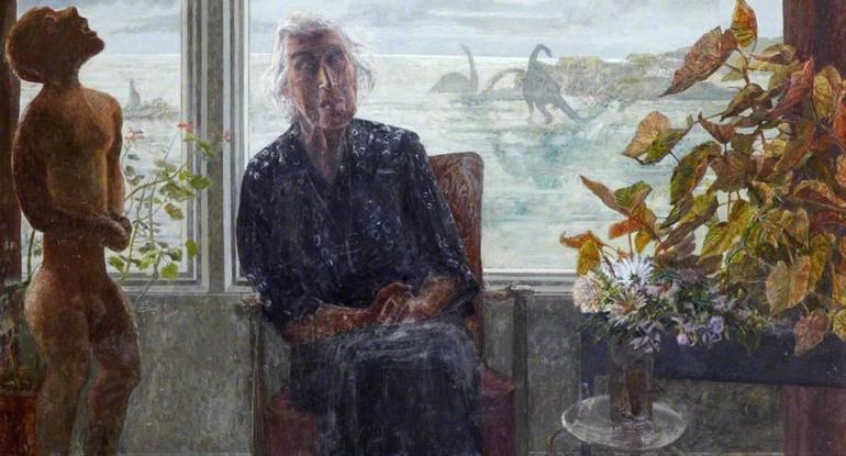 Victoria Crowe: Dr Winifred Rushforth, Lauder Road. Photographer: Antonia Reeve. Museums & Galleries Edinburgh