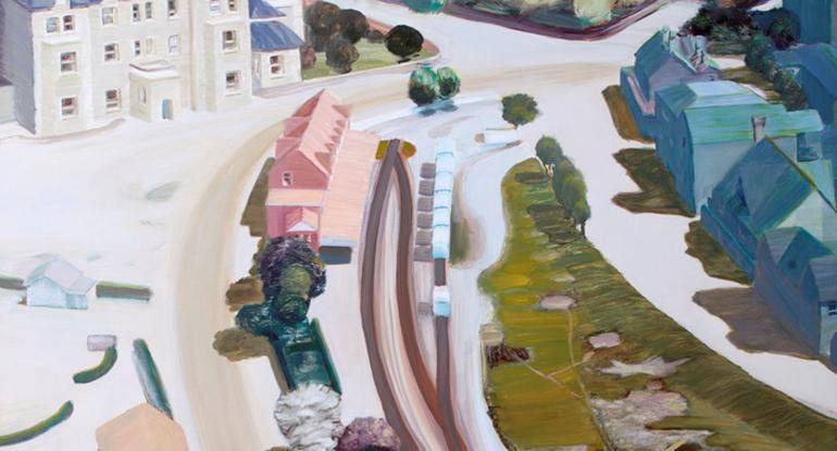Town, 2005 by Carol Rhodes