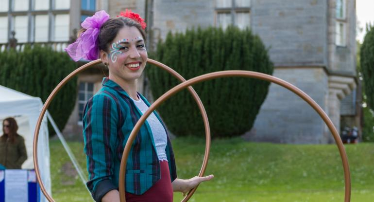 Performer at Lauriston Castle