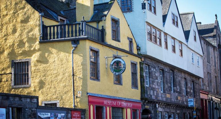 Museum of Edinburgh exterior