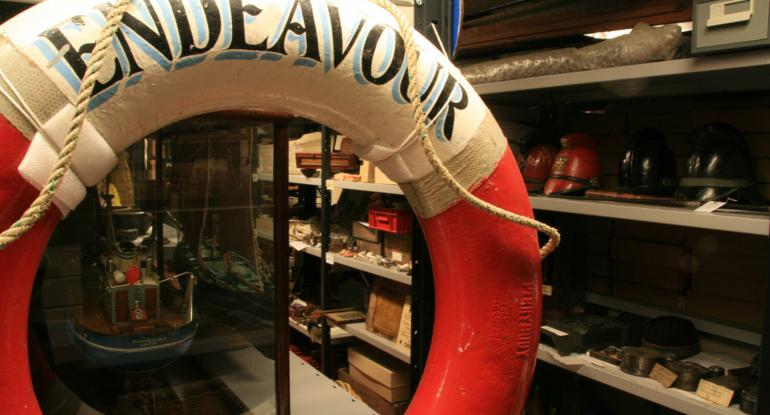Newhaven Museum Close up