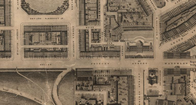Mapping Classical Edinburgh