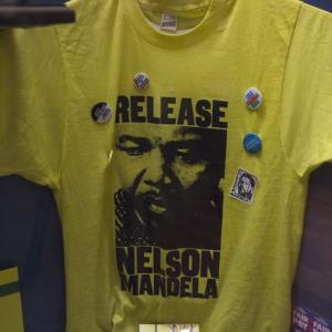 Release Nelson Mandela T Shirt at the Peoples Story Museum Edinburgh