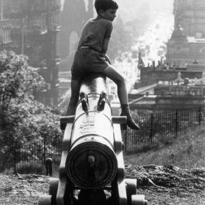 Boy and Cannon