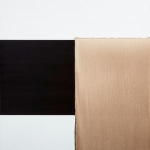 Callum Innes, 'Exposed Painting, Charcoal Black/ Red Oxide', 2000. © the artist (small image file)
