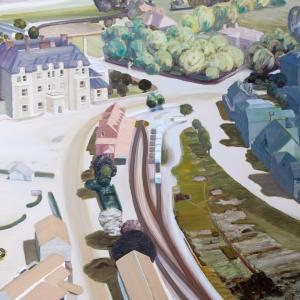 Carol Rhodes, Town, 2005 © The Estate of Carol Rhodes
