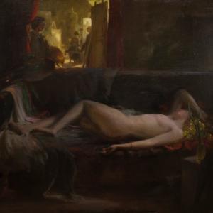 Charles H. Mackie, Artis Ancilla, 1911. City Art Centre, Museums & Galleries Edinburgh