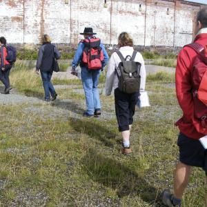 Contouring the wasteland in Llandudno for Mostyn Art Gallery
