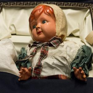 Museum collection centre_doll in pram