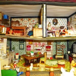 Museum collection centre-dolls house