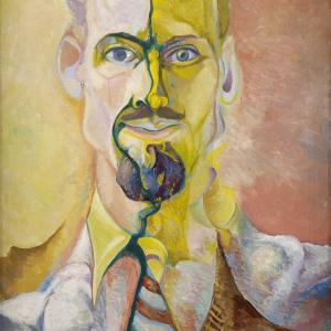 Edwin G. Lucas, Self Portrait