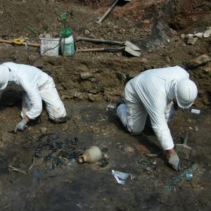 Excavations of Edinburgh University Old College Chemistry Stores, Addyman Archaeology