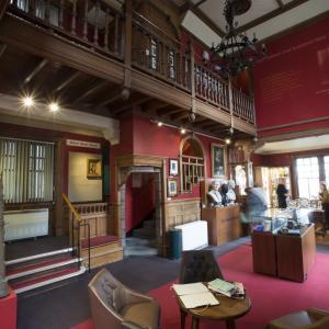 Inside the Writers' Museum Edinburgh