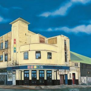Jock McFadyen, Great Junction Street, 1998, oil on canvas