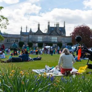 Party in the Lauriston Castle grounds