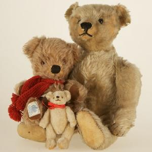 Two Teddy Bears at Museum of Childhood