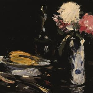 S.J. Peploe, Still Life, 1905, oil on panel