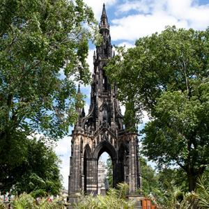 Scott Monument full height