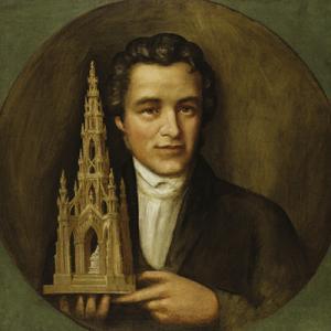 Scott monument portrait