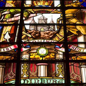 Scott Monument Stain Glass window