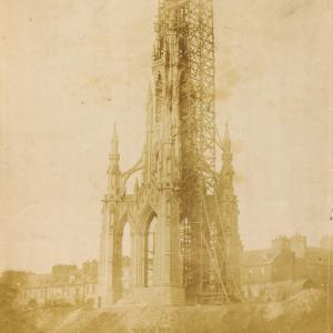 Scott Monument vintage photo