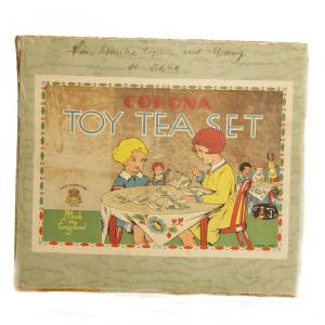 Tea set box at Museum of childhood